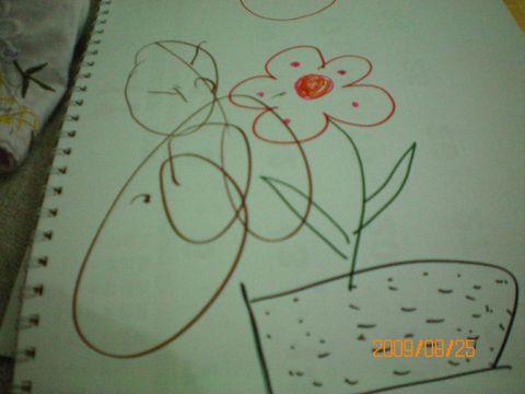 绘画广州塔用水彩笔-画画