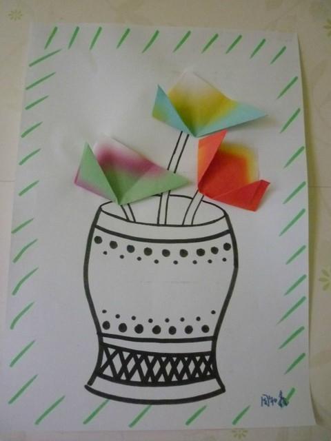 自学简笔画 幼儿园手工作品