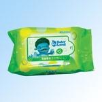 贝比乐乐婴儿湿巾绿茶25片