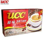 UCC原味3合1速溶咖啡140克