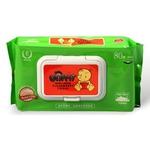 优尼弗牛奶湿巾80片(有盖)