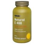 GNC健安喜纯天然维生素E400IU180粒