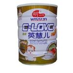 明一英慧儿鱼肉蔬菜营养米粉