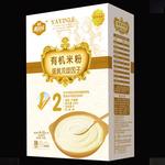 雅因乐2段蛋黄双歧因子有机米粉250g