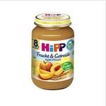喜宝hipp有机苹果+黄桃+谷物泥