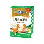 瑞博3段鸡鱼肉蔬菜营养配方米粉