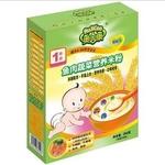 奥吉康1段鱼肉蔬菜营养米粉