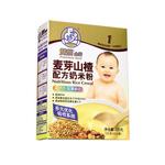 双熊麦芽山楂配方奶米粉225克/盒
