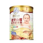 双熊麦芽山楂配方奶米粉528g/罐