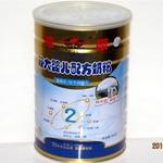 燎原金装较大婴儿配方奶粉2段900g(老包装)