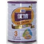 圣元优博i系列幼儿成长配方奶粉3段900g