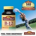 Nature Made维生素B12缓释片300粒