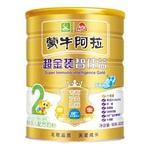 蒙牛阿拉超金装智佳益较大婴儿配方奶粉2段900g