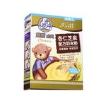 双熊金典杏仁芝麻配方奶米粉225克/盒