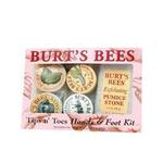 美国Burt`s Bees小蜜蜂手足唇护理套装8件套