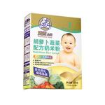 双熊胡萝卜蔬菜配方奶米粉225克/盒