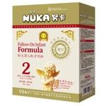 努卡益智系列较大婴儿营养配方奶粉2段400g