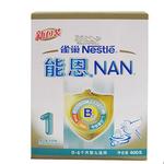 雀巢能恩1益生菌初生婴儿配方奶粉400g/盒