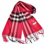 恒源羊绒羊毛加厚保暖男士长围巾礼盒装SFBX180-81大巴格红色