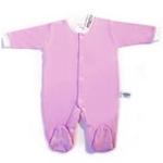 babyglow贝若星体温检测婴儿服粉色睡衣9-12个月