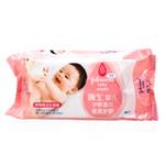 强生婴儿护肤湿巾倍柔护肤六连包6*80片