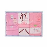 GUGA咕嘎加厚棉衣9件套宝宝婴儿豪华礼盒238粉色
