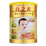 谷之爱婴幼儿DHA+AA小米粉360g