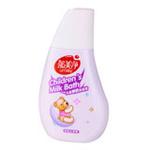 郁美净儿童鲜奶沐浴露(草莓)200g