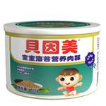 贝因美宝宝海苔营养肉酥115g