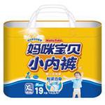 妈咪宝贝小内裤婴儿纸尿裤XL男19P