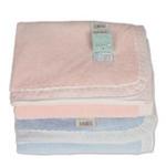 宝贝不哭珊瑚绒毛毯TZ1101粉色