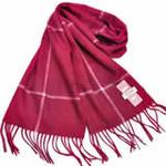 恒源羊绒羊毛加厚保暖男士长围巾礼盒装SFBX180-87枣红色