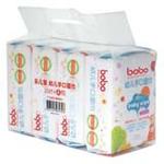 bobo幼儿手口湿巾100片(4x25片)