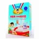 贝因美DHA蔬菜营养米粉