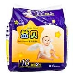 益贝婴儿纸尿片L16+2