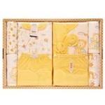 GUGA咕嘎纯棉四季款宝宝婴儿礼盒169黄色0-12个月