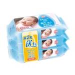 强生婴儿清爽洁肤湿巾80片*3