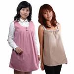 爱家防辐射孕妇装银纤维吊带超值组合AJ313粉红/L+JL201