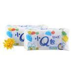 新舒而美纯棉感表面贴体清香卫生巾40片垫