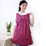 爱家防辐射服时尚公主裙AJ606紫红XL