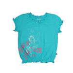 加菲猫女童圆领T恤GTWD35407浅兰120