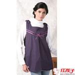 婷美防辐射紫色丝带衫  XL