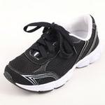 兔仔唛TUZAMA新款男童童鞋透气休闲运动网布鞋黑色36码