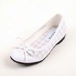 兔仔唛TUZAMA大女童新款女童皮鞋单鞋公主皮鞋白色36码