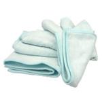 美亲竹纤维大浴巾起圈100%竹纤维蓝色