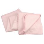 美亲竹纤维童毯粉色