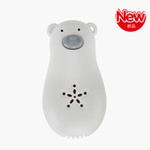 小白熊小熊超声波便携驱蚊器(白色/棕色)
