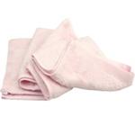 美亲竹纤维大毛巾100%竹纤维粉色
