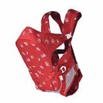 袋鼠仔仔多功能婴儿背袋7813红色