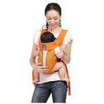 袋鼠仔仔豪华型婴儿背袋成长型DS6865橙色